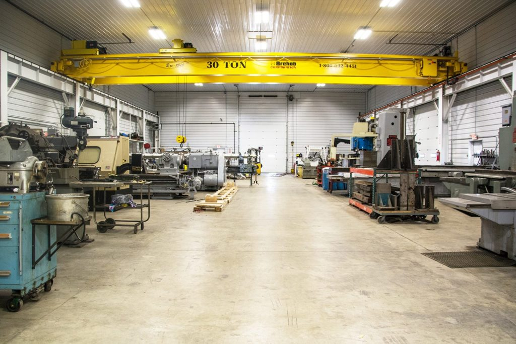 large capacity machine shop Applied Metals and Machine Works