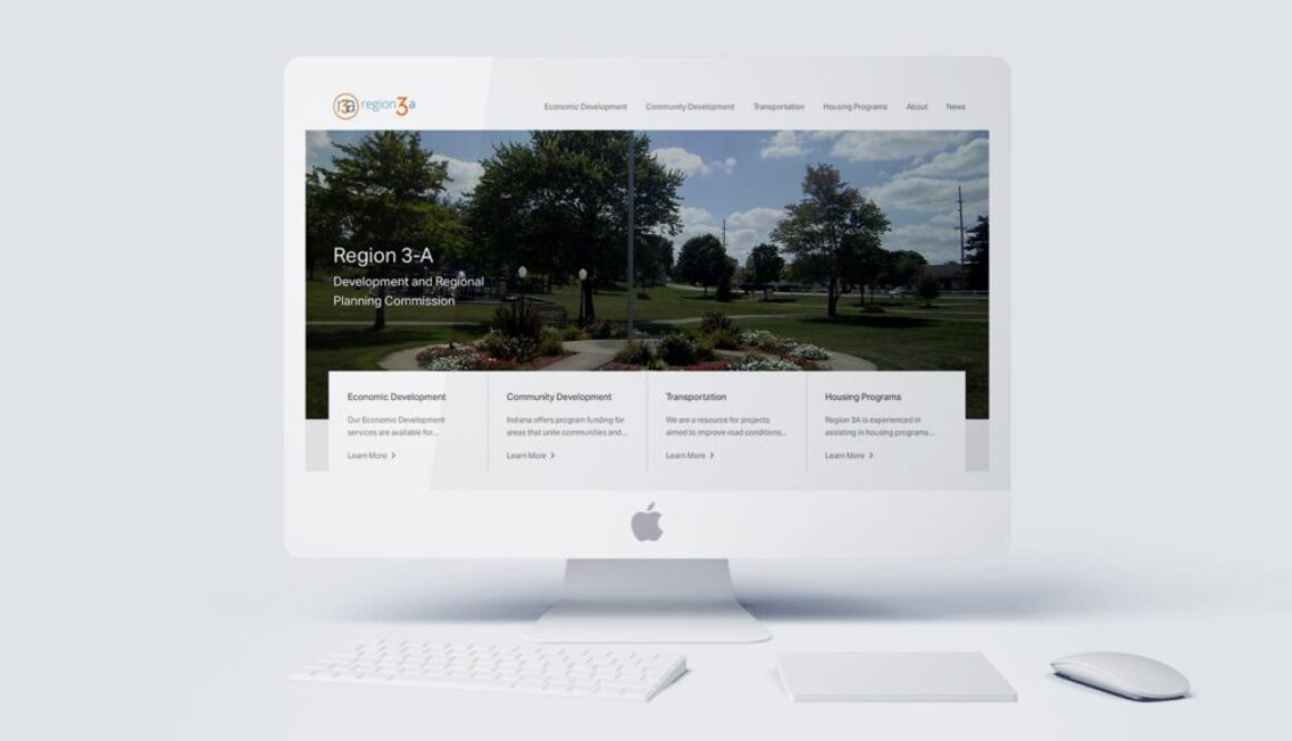 Region 3A Website Design